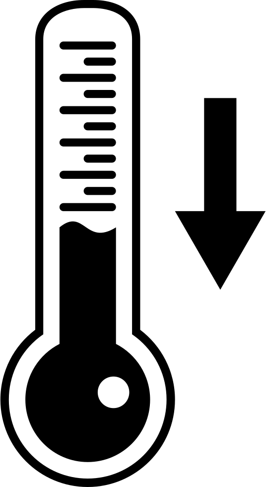 Descending temperature on tool. Clipart thermometer downloadable