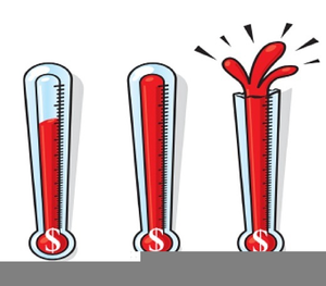 Clipart thermometer fund. Raiser free images at