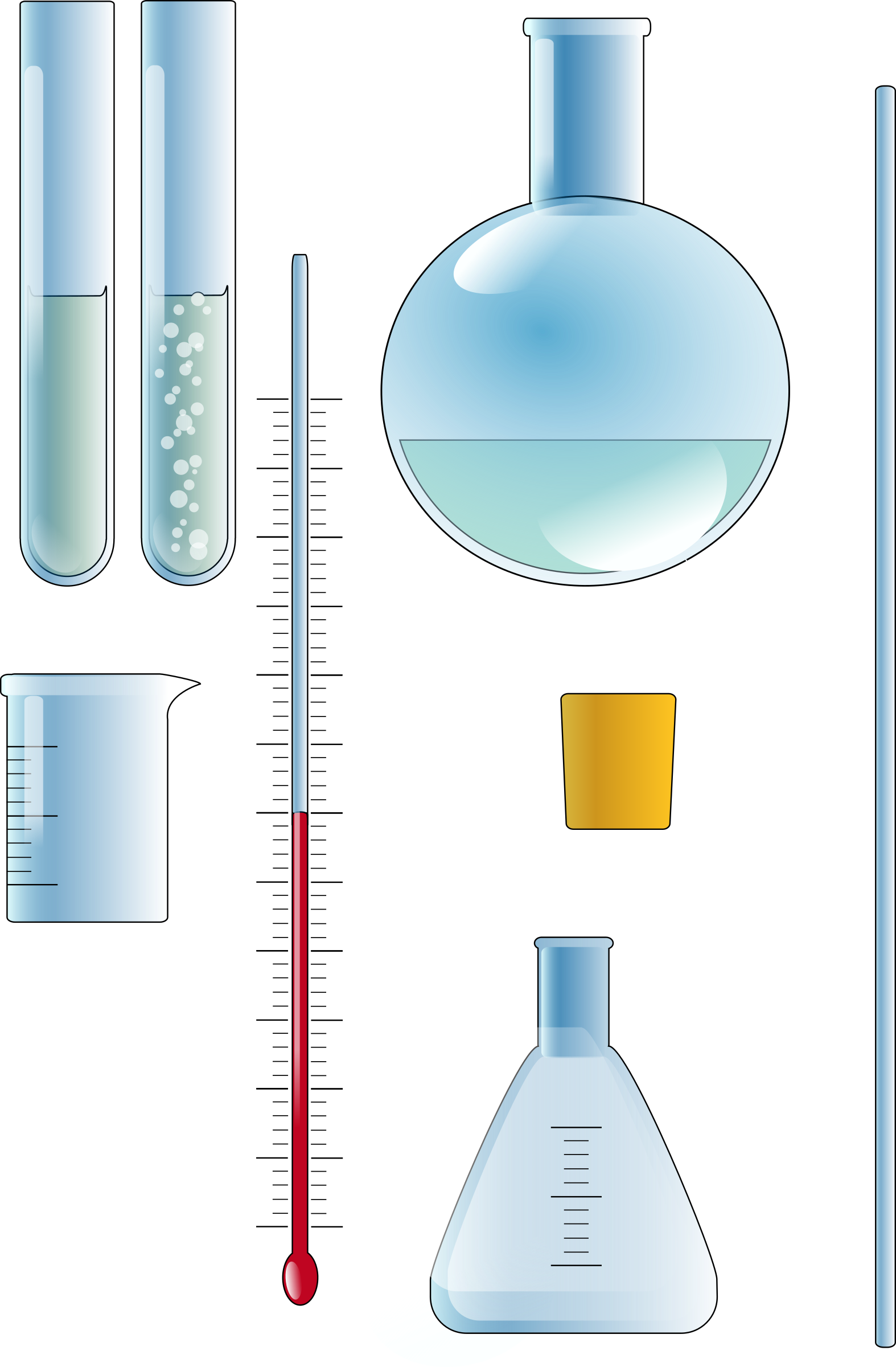 Chemistry set big image. Clipart thermometer laboratory thermometer