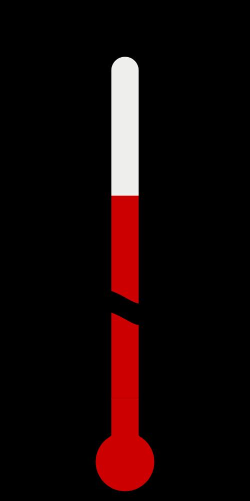 Clipart thermometer plain. File temperature in ev