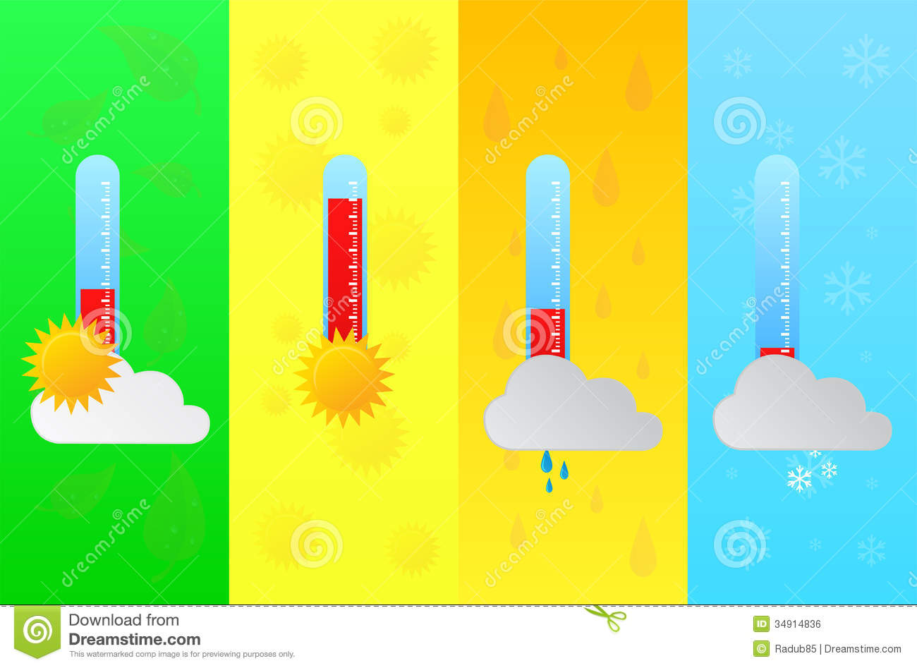 Temperature clip art library. Clipart thermometer spring