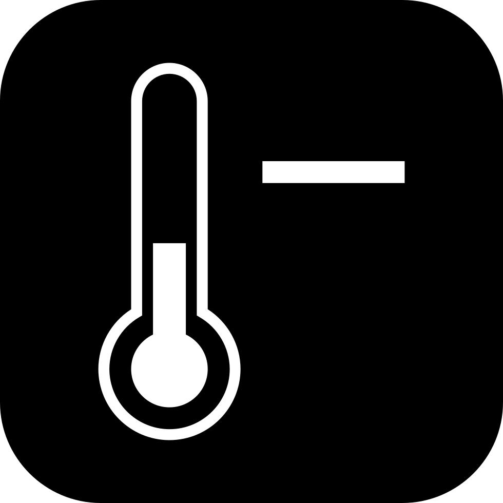 clipart thermometer temperature control