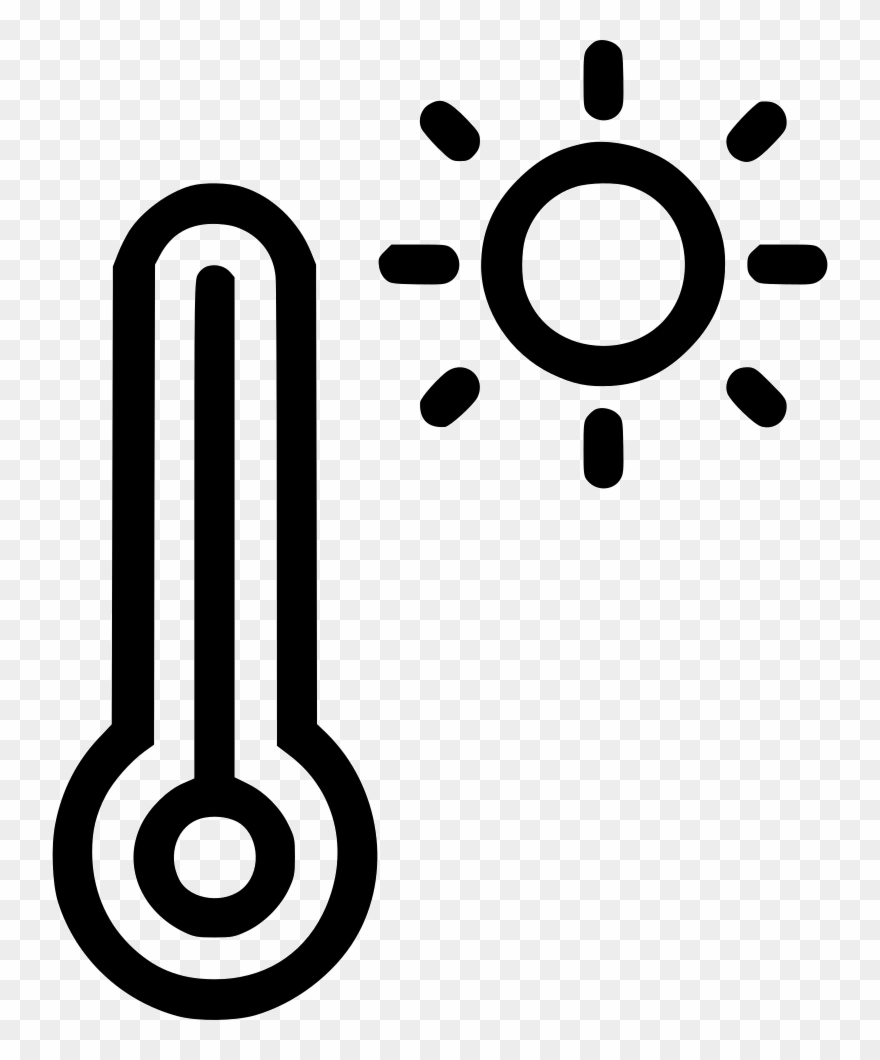 Reading daytime weather sun. Clipart thermometer temperature gauge