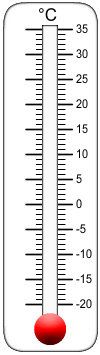 Clipart thermometer template celsius. Free clip art of
