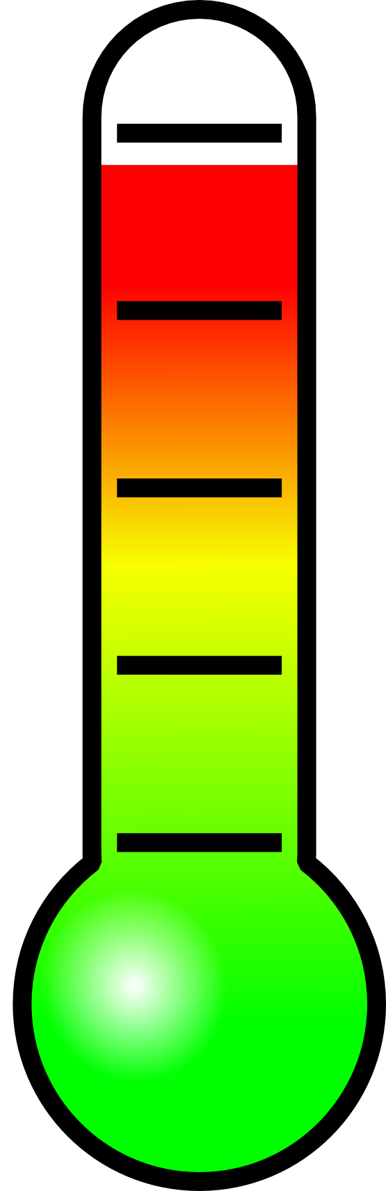 Heat clipart thermometer. Thermometre gifi gallery of