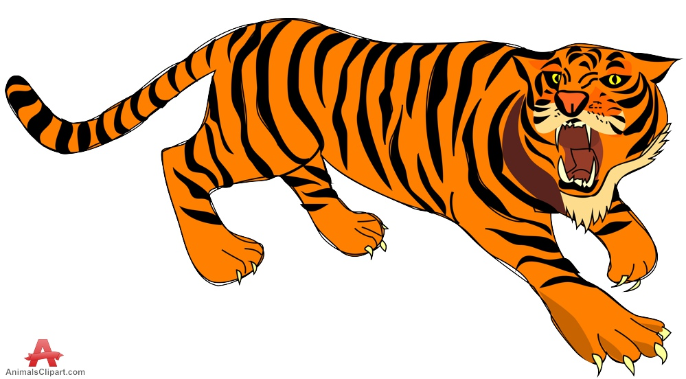 collection of a. Clipart tiger