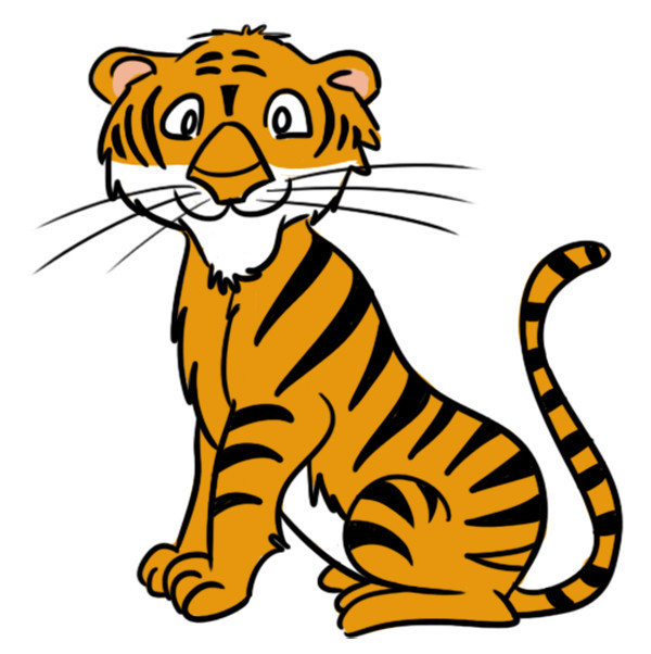 Clip art animals wild. Clipart tiger