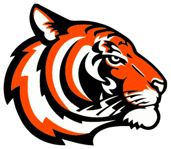 Tigers logo orange free. Clipart tiger abstract