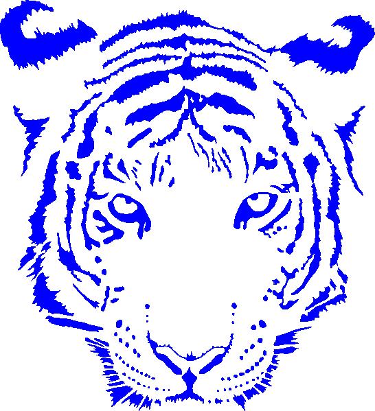 Face clip art color. Clipart tiger aggressive