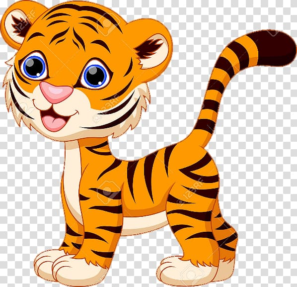 Baby Tiger Clipart - 48 cliparts