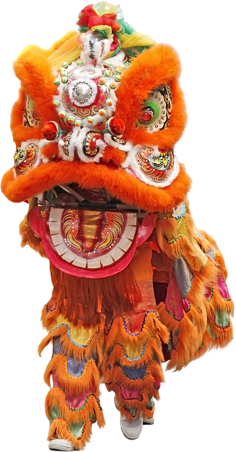 Festival clipart sports festival. Lion dance isolated stock