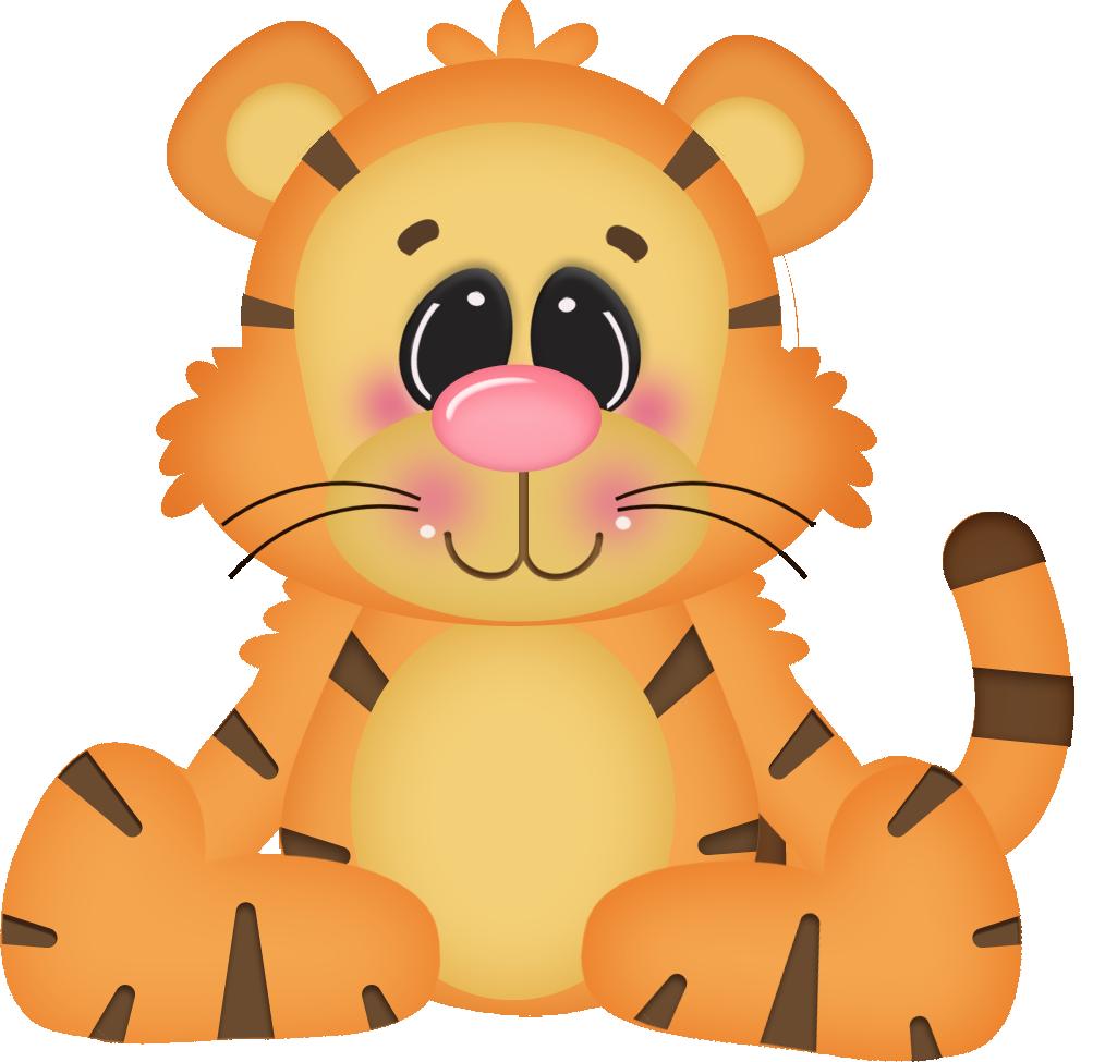 Meeting clipart kartun. Stuffed animal orange tiger