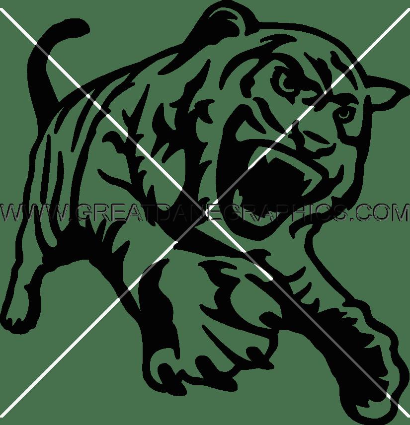 Good tiger body