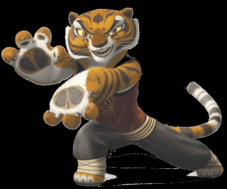 Clipart tiger file. Kung fu panda transparent