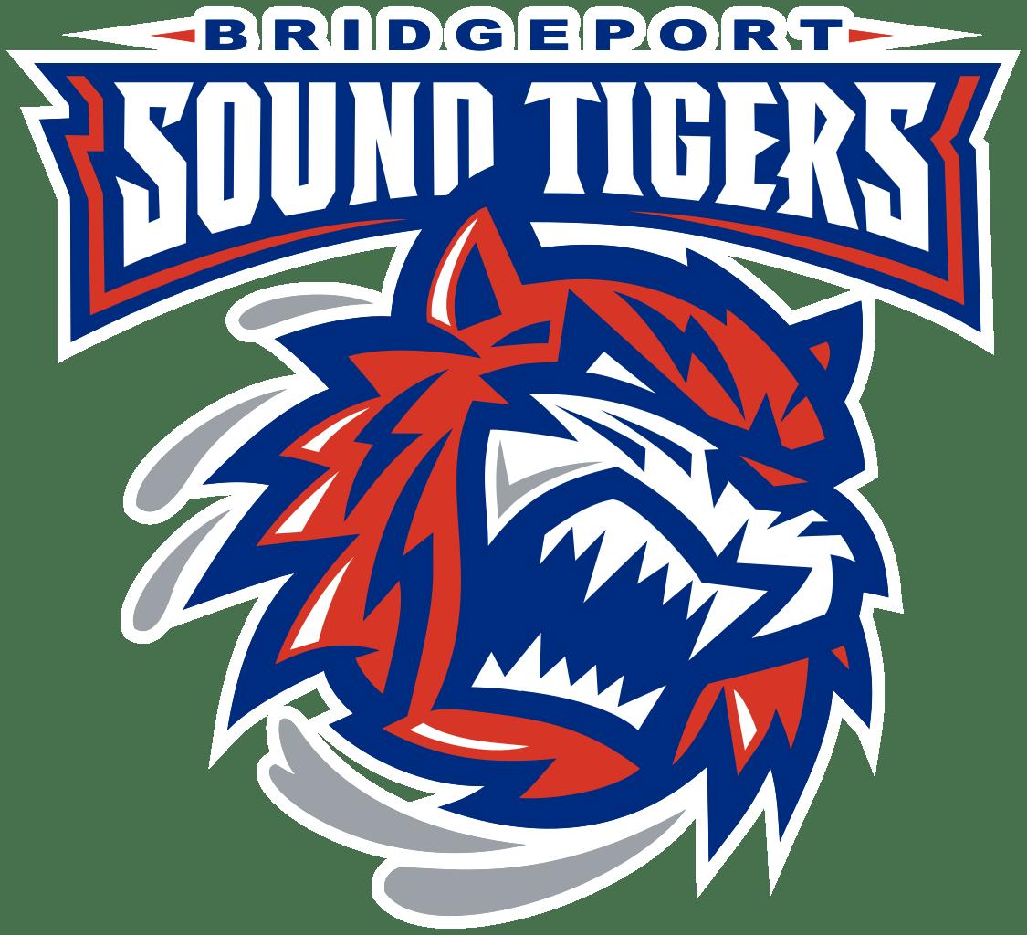 Clipart tiger logo. Bridgeport sound tigers transparent