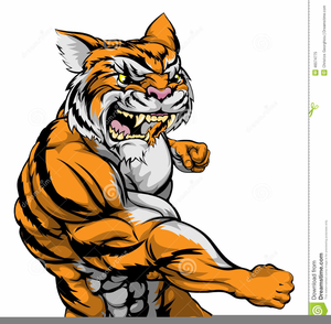 Free images at clker. Clipart tiger muscle