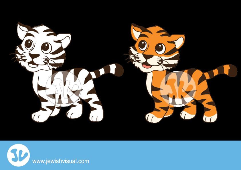 Hands clipart tiger. Profile clip art