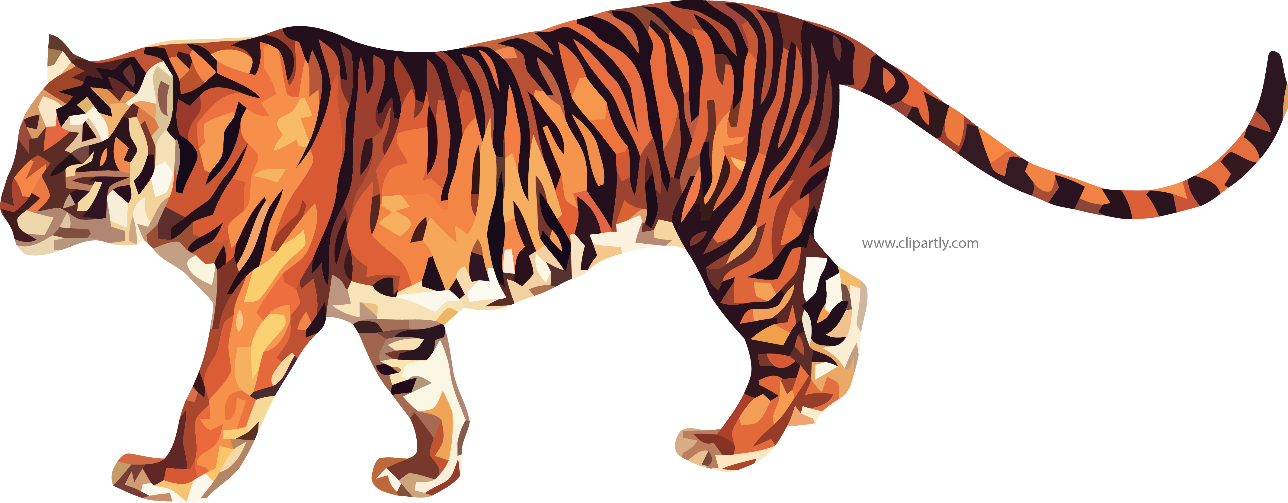 True png image www. Clipart tiger real