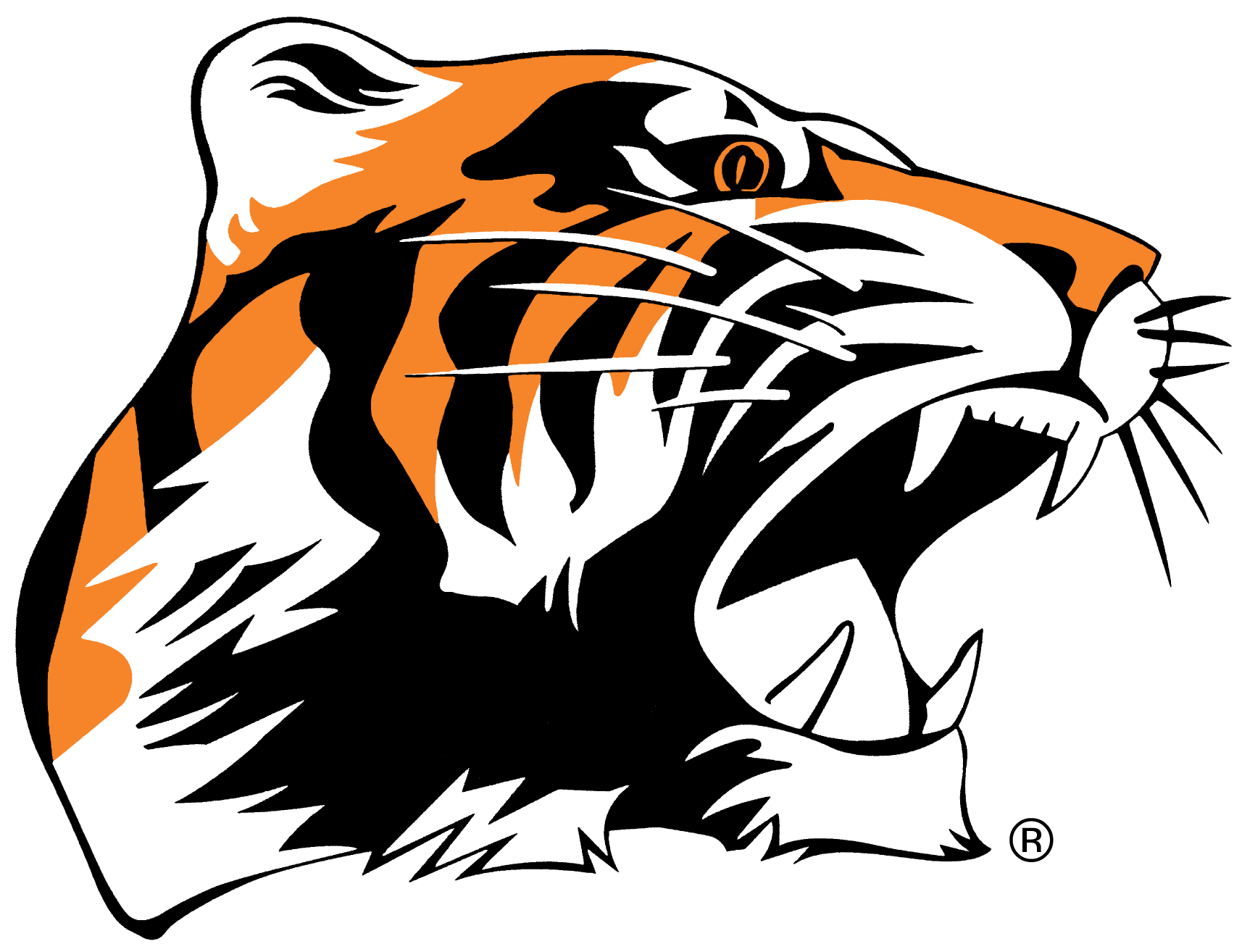 Chagrin falls athletes better. Student clipart tiger