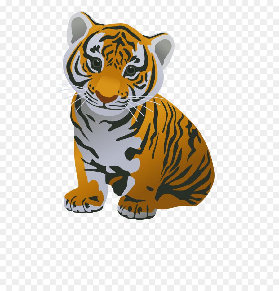 Jigsaw puzzle cat siberian. Clipart tiger south china tiger