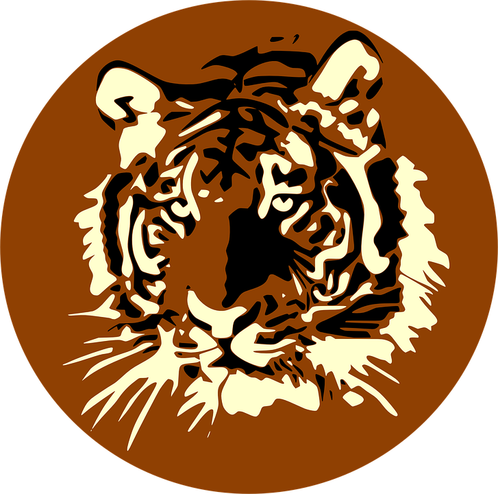 Free shop of library. Football clipart tiger