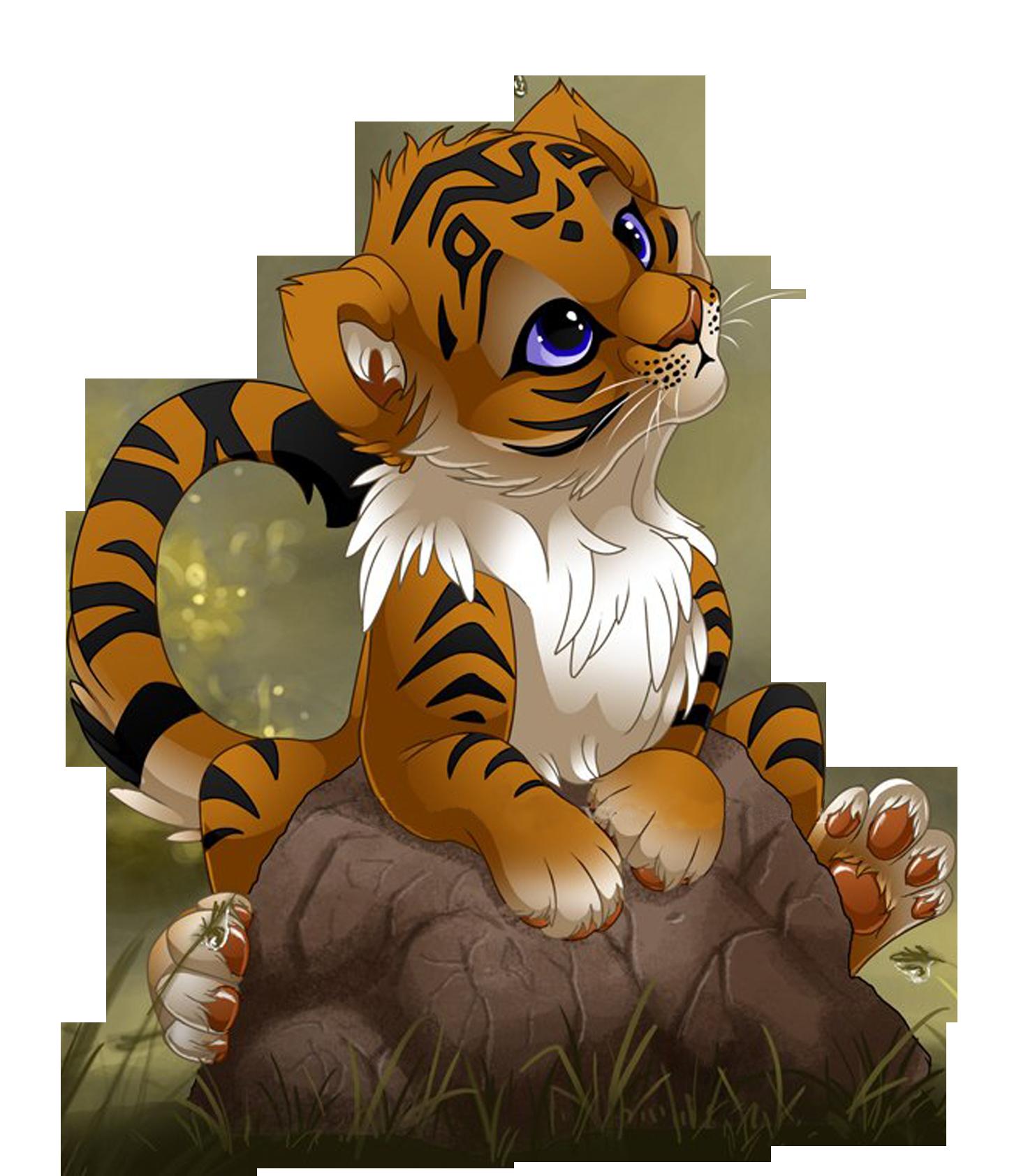 Bengal cubs cuteness clip. Clipart tiger tiger cub
