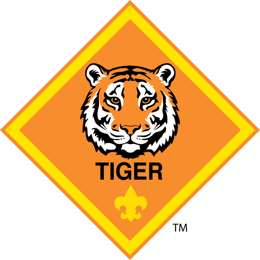 Clipart tiger tiger cub. Tigers scouts pack slatersville