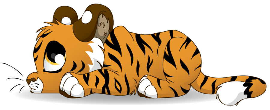 Clipart tiger tiger cub. By littlehybridshila on deviantart