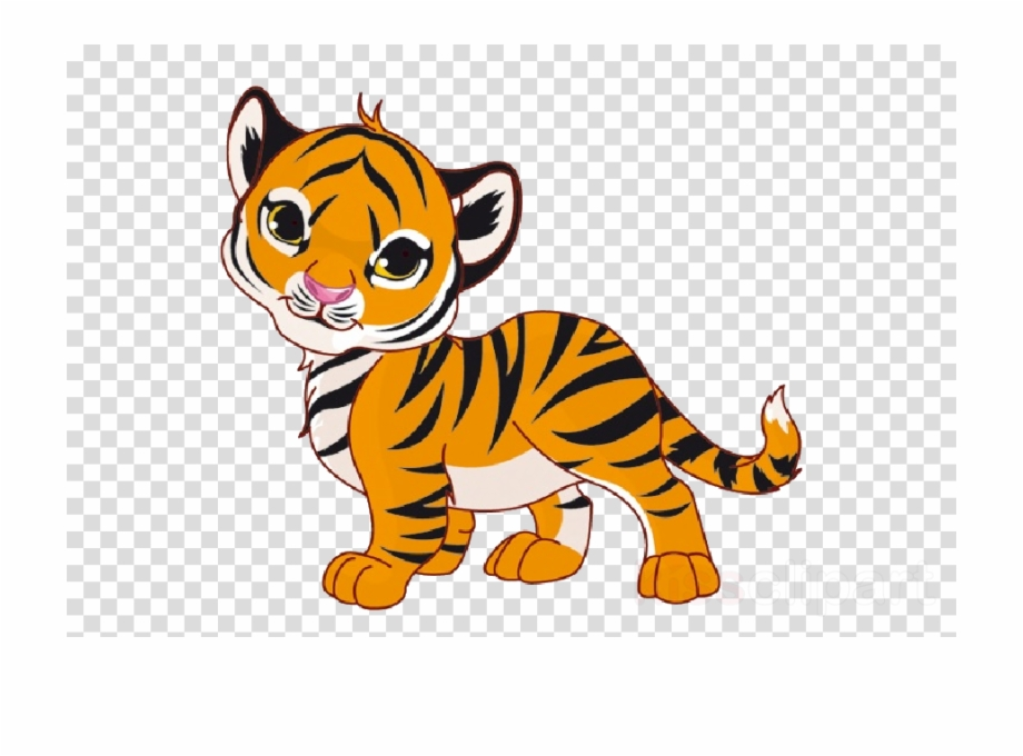 Clipart tiger tiger cub. Baby cartoon stock photography
