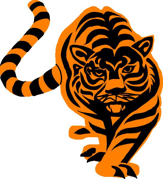 Clipart tiger tigre. Clip art at clker