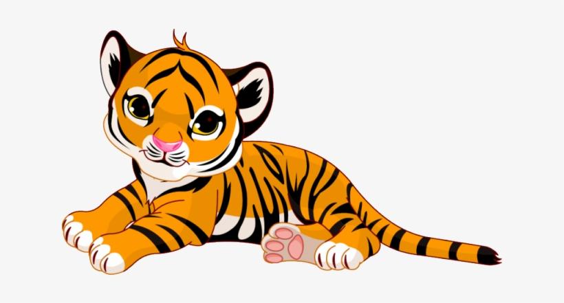 Clipart tiger tigre. Baby cartoon png image