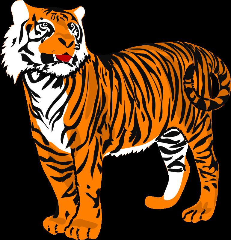 Clip art panda free. Clipart tiger