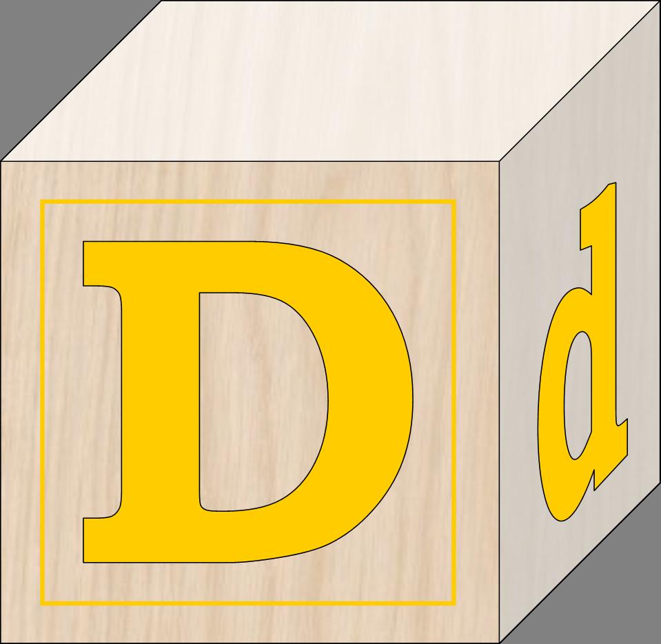 Blocks d free images. Clipart toys block