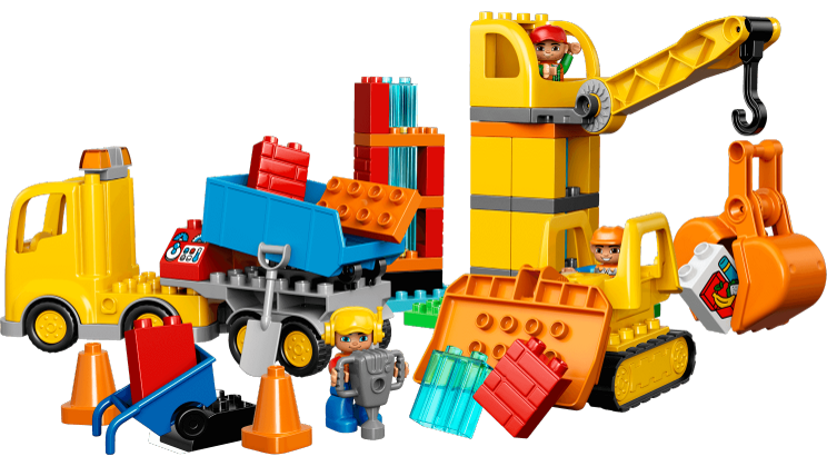 Big site lego duplo. Clipart toys construction toy