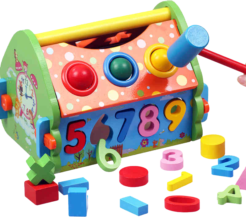 Clipart toys construction toy. Block child educational game