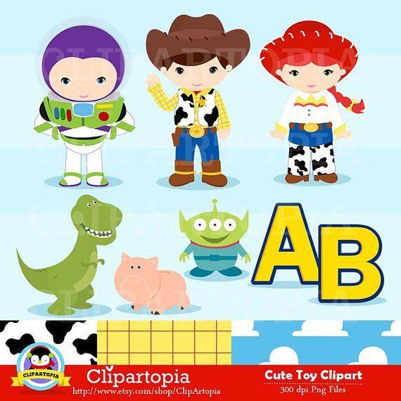 Toy digital clip art. Clipart toys cute