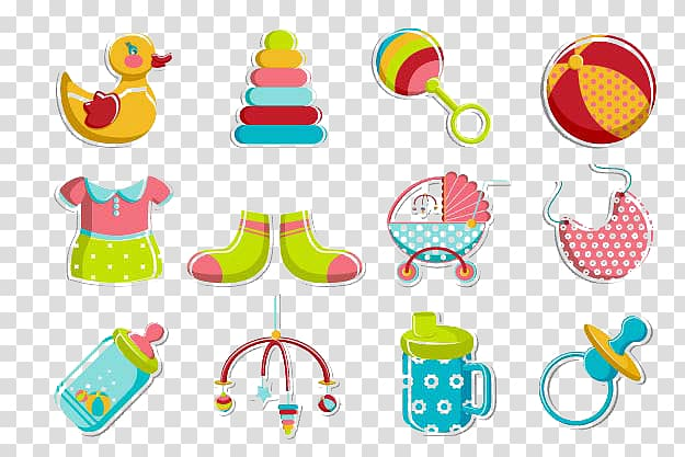 Pacifier illustration toys transparent. Infant clipart baby toy