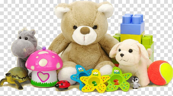 Children s shop stuffed. Clipart toys lot toy