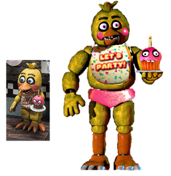 Fnaf like chica from. Clipart toys lot toy