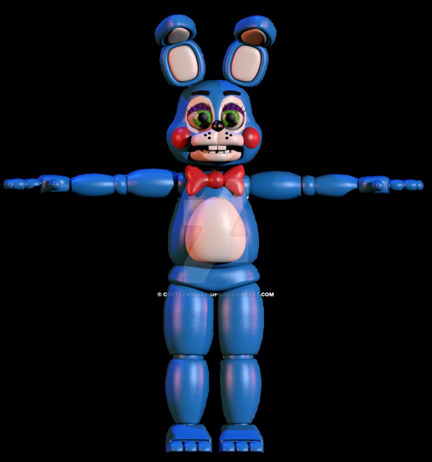 Blender internal bonnie v. Clipart toys lot toy