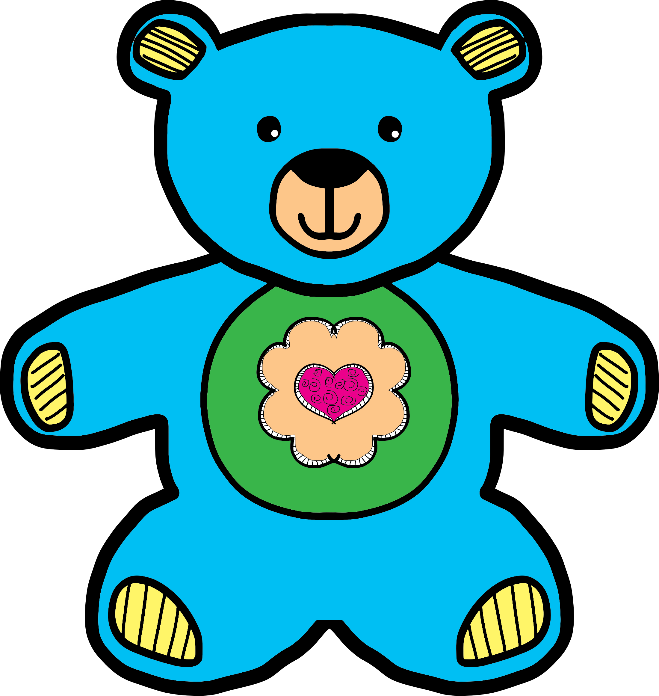 Clipart toys teddy bear. Blue big image png