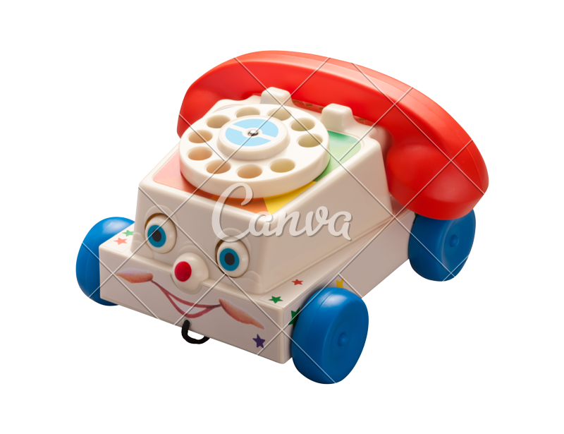 Clipart toys toy phone. Antique photos by canva