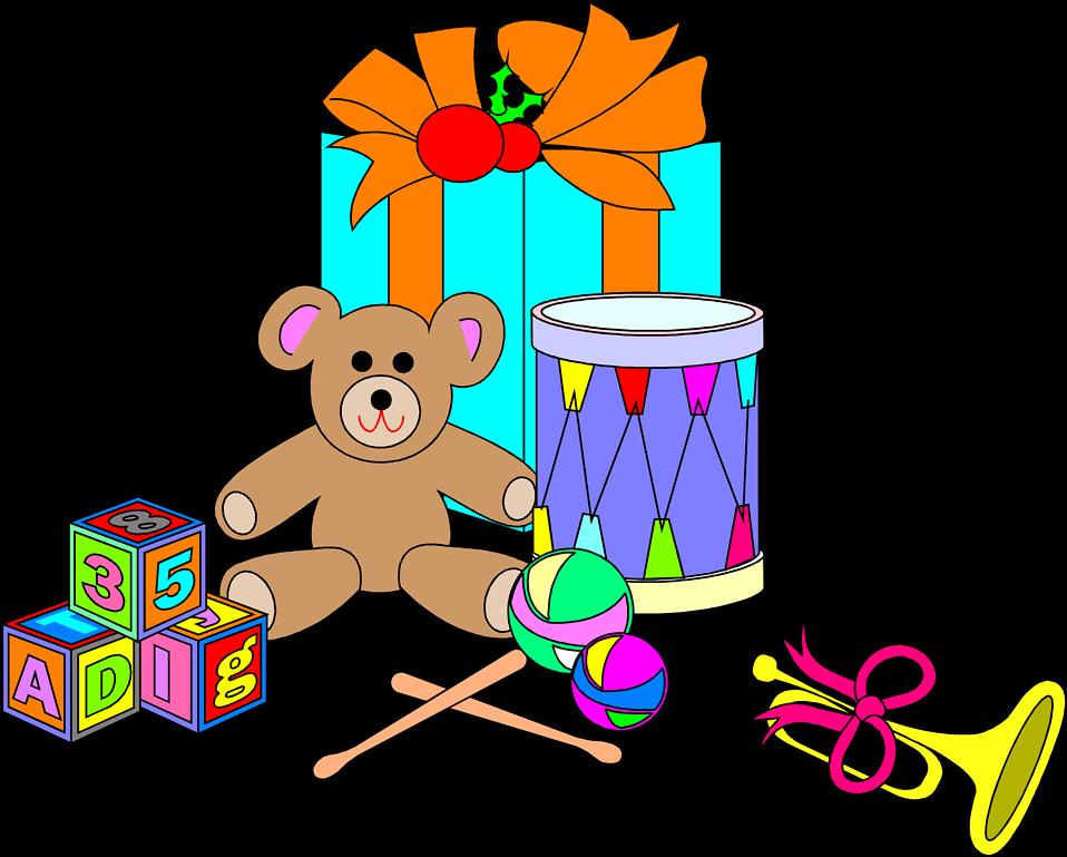 Free stock photo illustration. Clipart toys transparent background