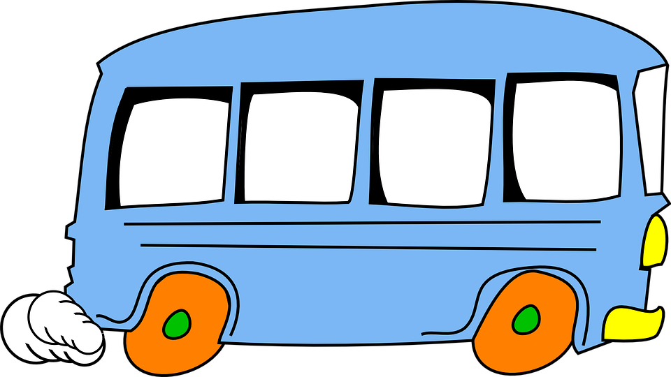 Clipart train bus. Collection of cartoon pictures
