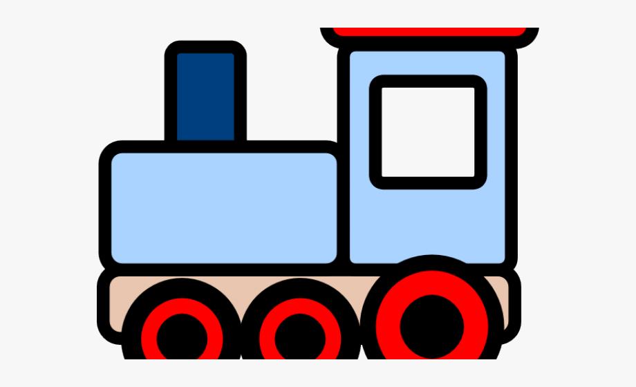 Long transparent . Engine clipart choo choo train
