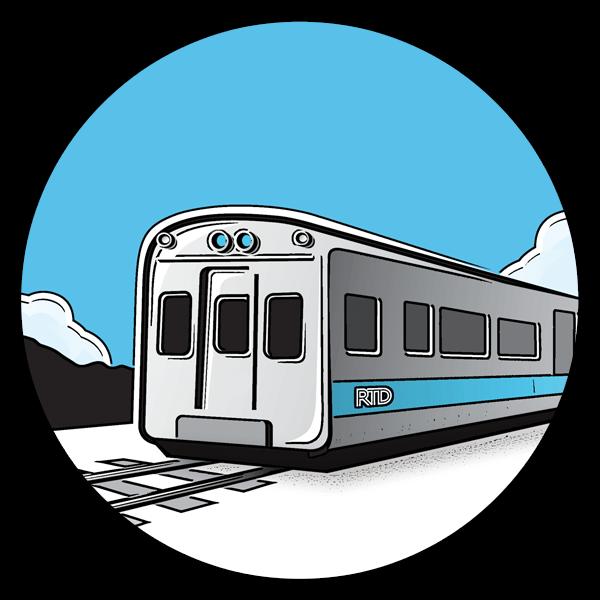 Train commuter train