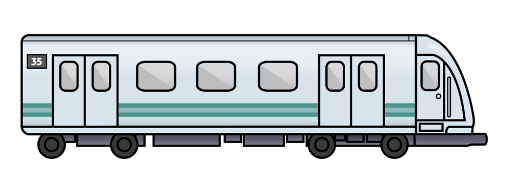 Trains png transparent images. Track clipart side view