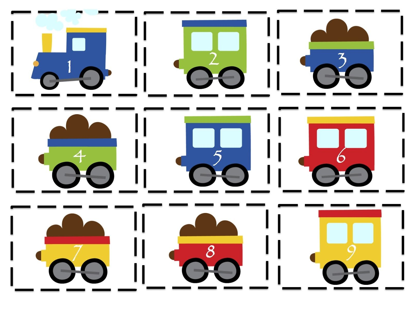 December preschool printables activities. Clipart train daycare