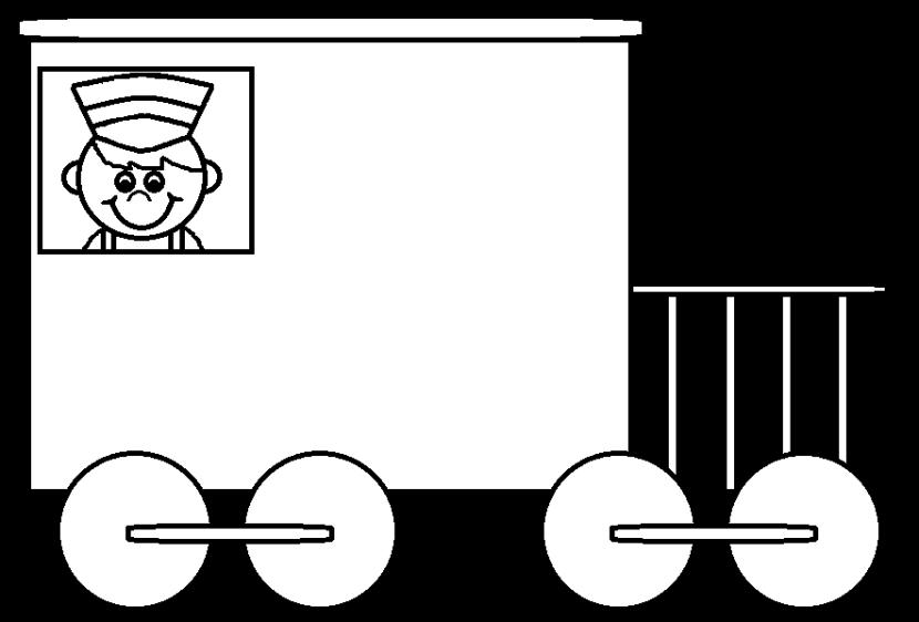 Car and white clipartfest. Wheel clipart black train