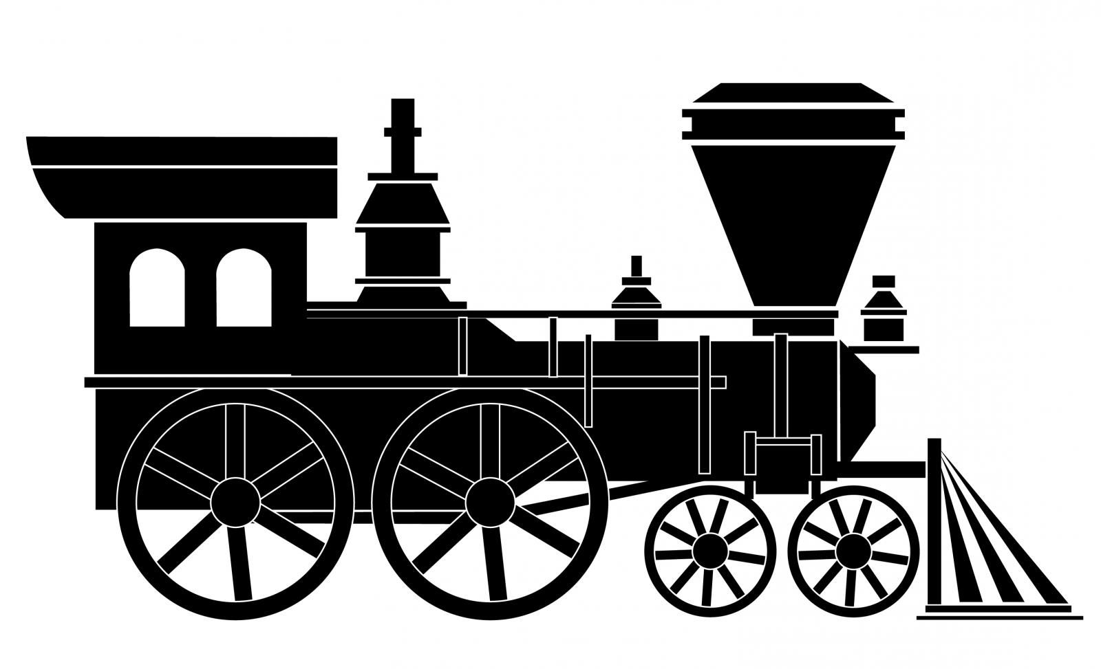 Best free vector old. Clipart train file